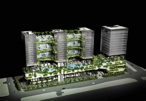 Floor Plans Chicago by In Progress Parkroyal On Pickering Woha Archdaily