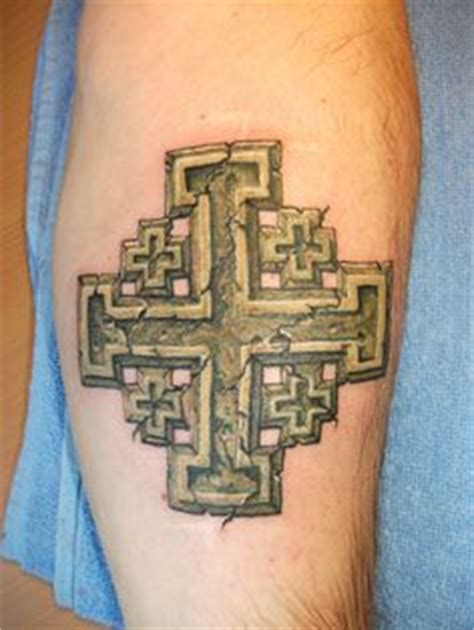 jerusalem cross tattoo 1000 images about on celtic tattoos