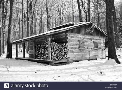 The Cabin In The Woods Free by A Lone Cabin In The Woods Stock Photo Royalty Free Image