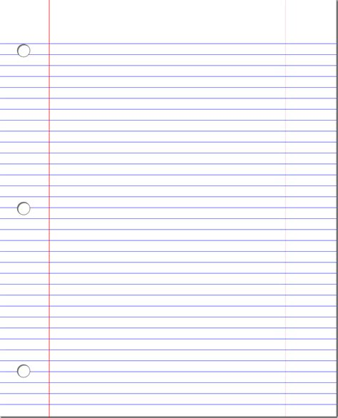 ruled paper template big image png