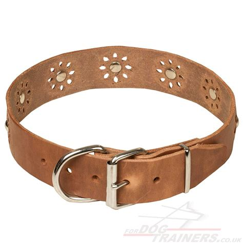 Handcrafted Collars - handmade collars for dogs leather collars 163 38 90