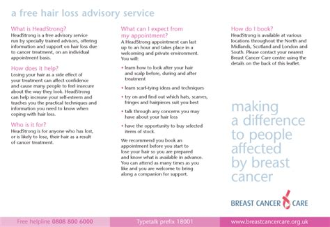 Fundraising Letter For Breast Cancer Someone To Talk To Breast Cancer Care Jo Clarke Freelance Charity And Sector