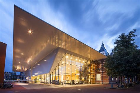 fresh home com daring contemporary addition to amsterdam s stedelijk