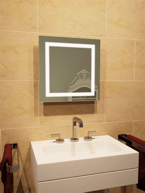 lightweight bathroom mirror aurora led light bathroom mirror 158 illuminated
