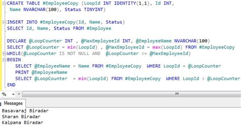 Sql Loop Through Table by Loop Through One Row At A Time Sqlhints
