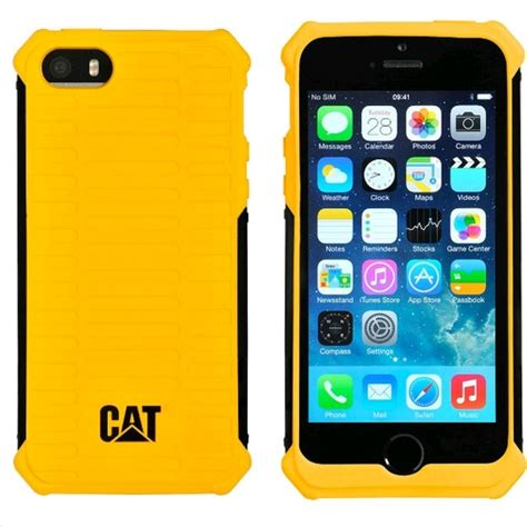 rugged cat cat 174 active rugged for apple iphone 5s 5 yellow expansys korea