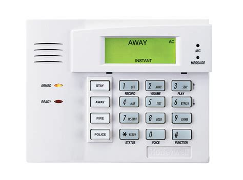 honeywell 6150v talking fixed alarm keypad