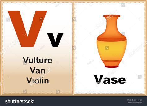5 Letter Words That Start With V alphabet letter v clipart few similar stock vector