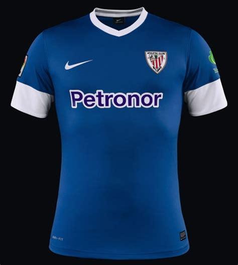 Jersey Athletic Bilbao Away 1213 new athletic bilbao kits 13 14 nike athletic club home blue away shirts 2013 2014 football
