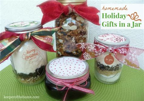 favorite homemade holiday gifts in a jar ideas the