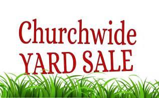 187 church wide yard sale