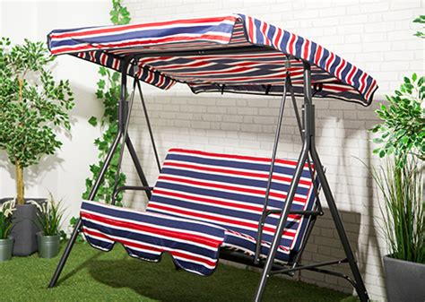 replacement canopy for swing hammock union stripe waterproof 3 seater replacement canopy for
