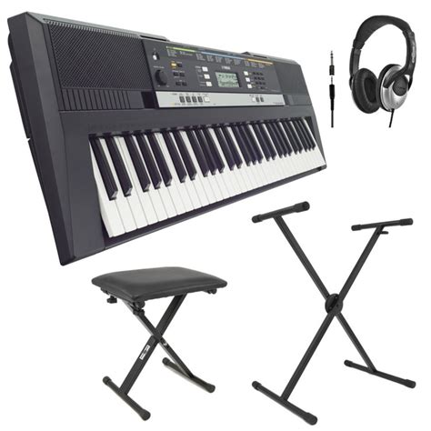 portable keyboard bench yamaha psre243 portable keyboard with stand bench and