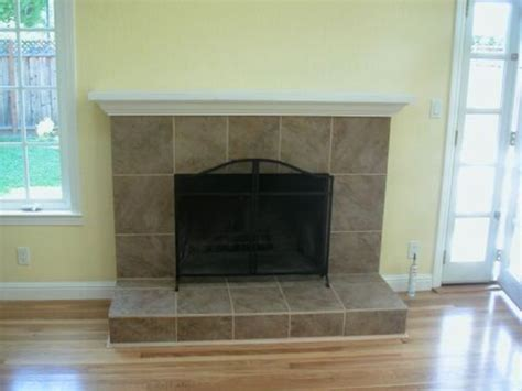 Fireplace Design Ideas With Tile by Easy Brick Fireplace Makeovers Design Ideas For House