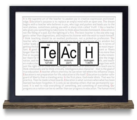 science teachers printable periodic table science teacher gift periodic table geeky nerd typography