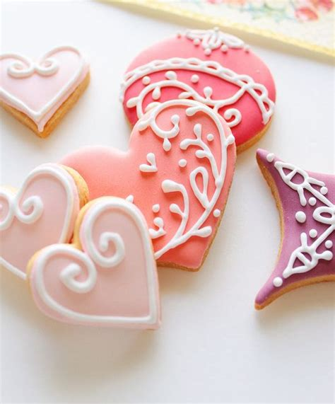 decorated valentines cookies 1047 best images about decorated cookies on
