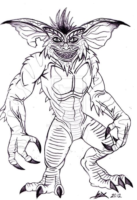 Gremlins Coloring Pages gizmo coloring pages