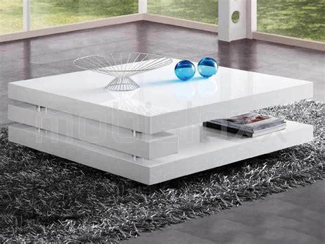 salontafel wit hoogglans hout salontafel antonio vierkant hoogglans wit bij mobistoxx