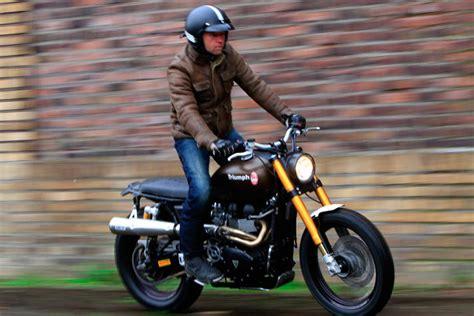 Triumph Motorrad Rumbler by Foto Show The Rumbler Auf Basis Einer Triumph Scrambler