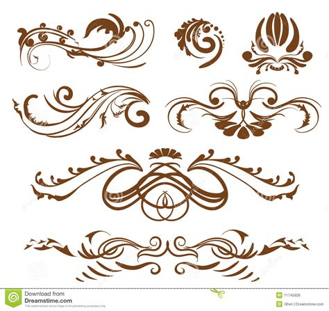 design elements typography stock photo ornamental design elements image
