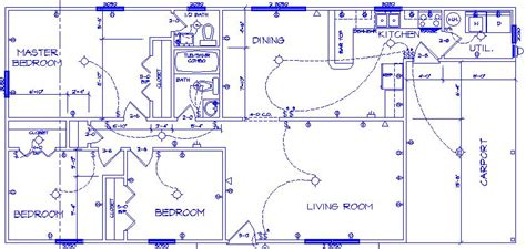 electrical house plan design electrical