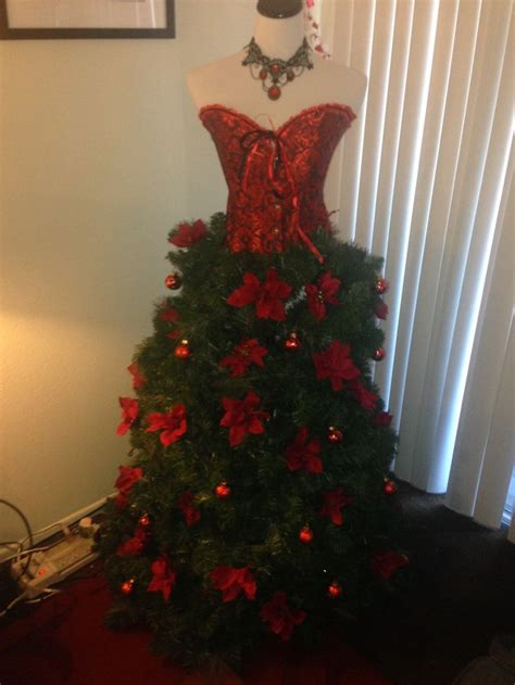 680 best christmas dress form trees images on pinterest