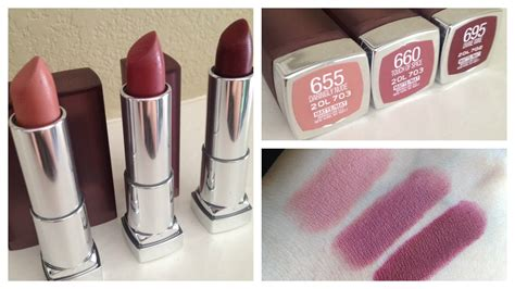 Review Dan Lipstik Maybelline maybelline matte lipstick review with