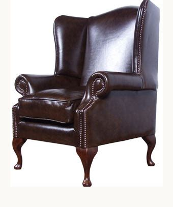 Leather High Back Chair by High Back Chair The Cavendish Leather High Backed Chair