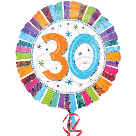 compleanno 30 anni palloncino mylar compleanno 30 anni amscan 7a1606901