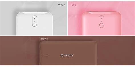 Orico Power Bank 5000mah Ld50 orico white ld50 5000mah dual usb power bank orc ld50 wh