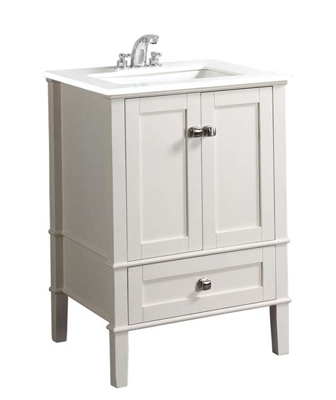chelsea bathroom vanity chelsea 24 quot bath vanity with white quartz marble top bathroom vanities amazon com