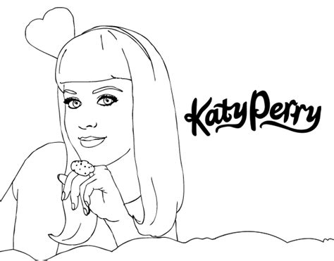 Katy Perry Coloring Pages Katy Perry Coloring Page Coloringcrew Com