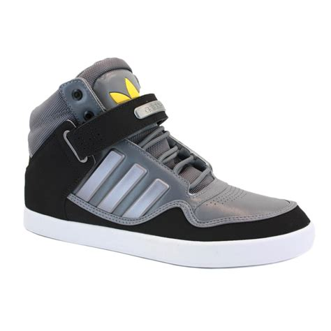 adidas adirise 2 0 q23038 mens laced leather high top