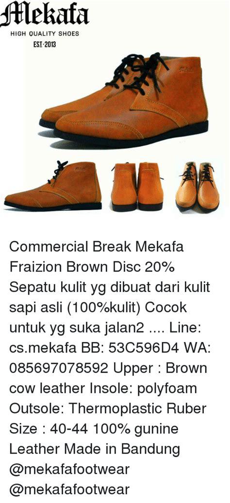 Sepatu Insolent High Quality Shoes Est 2013 Commercial Mekafa