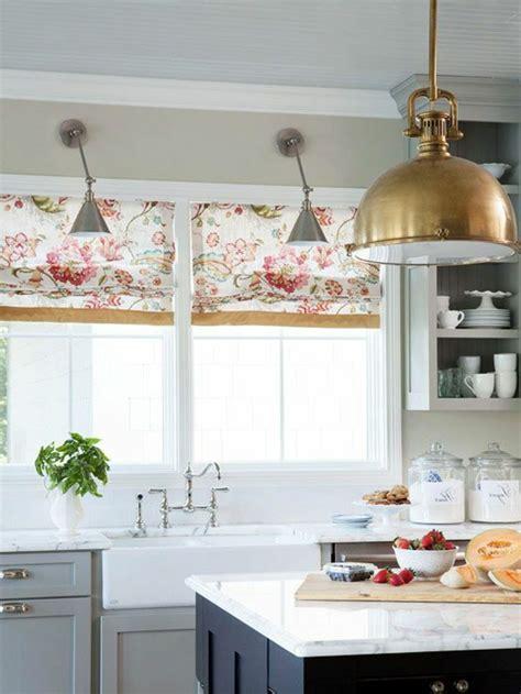 Galley Kitchen Design Photos Raffrollo F 252 R K 252 Che Eine Praktische Dekoration F 252 R Die