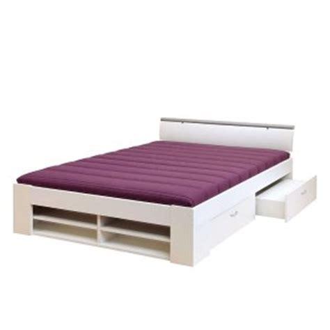 lit fonctionnel lars structure vernie blanche