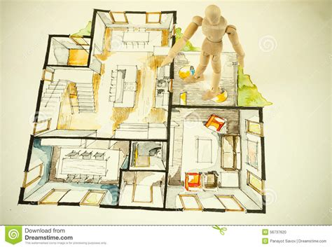 house perspective with floor plan house perspective and floor plans house plans