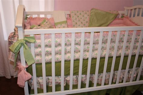 Green Baby Crib Bedding Great Sale Pink Mint Green Baby Bedding For Crib