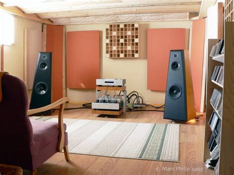 Listening Room Stereophile Com Living Room Acoustic Treatment