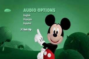 Mickey mouse clubhouse dvd menu car tuning