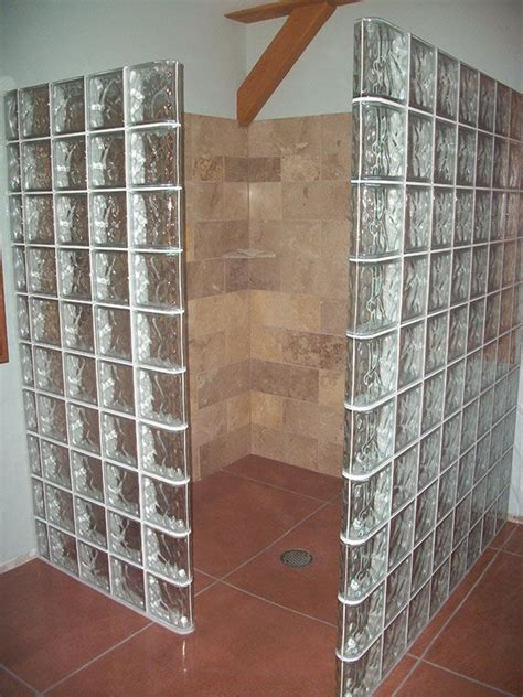 glass block bathroom designs glass block shower designs bathroom ideas