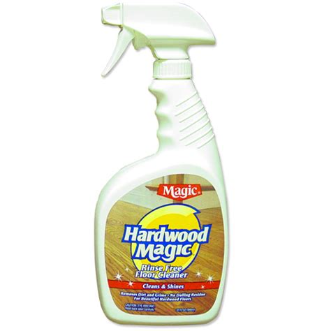 magic hardwood floor cleaner in household cleaning products