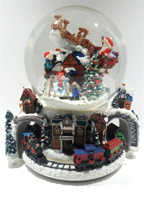 large snow globes christmas large snow globe shop collectibles daily