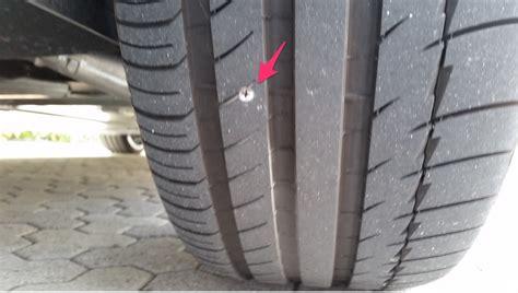 repairing  flat tire   tesla model