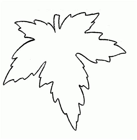 big leaf coloring pages large leaf coloring page coloring home