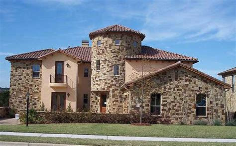 Tuscan Home Exterior Colors - plan w36849jg tuscan home plan with towering rotunda e architectural design