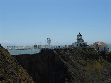 Point Bonita Lighthouse Trail Golden Gate National Recreation Area National Parks Blog