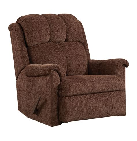 affordable furniture  chocolate tahoe rocker recliner