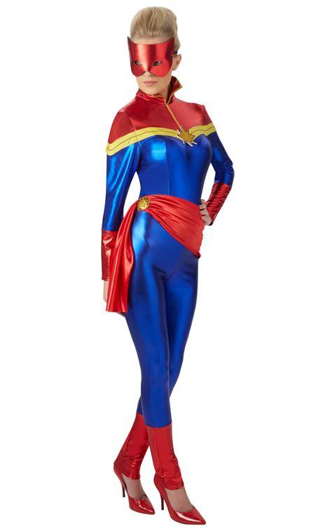 Costume Marvel Captain F766 s captain marvel fancy dress costume