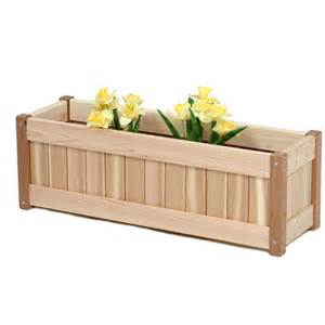planters and planter boxes by all things cedar garden